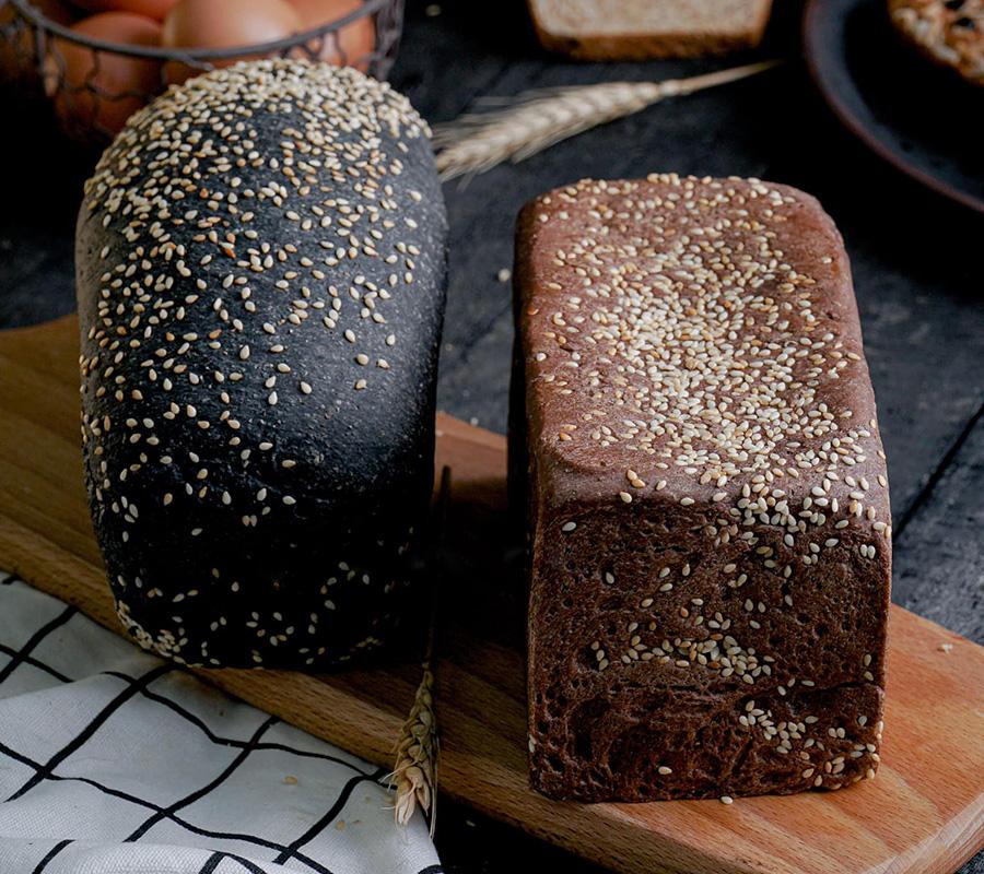 Cách làm bánh mì than tre nguyên cám giảm cân tại nhà